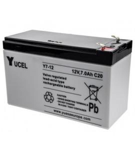 Yuasa Yucel 12V 7Ah batería de plomo