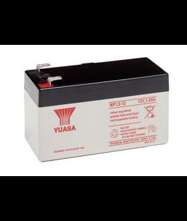Yuasa 12V 1.2Ah Batería de Plomo