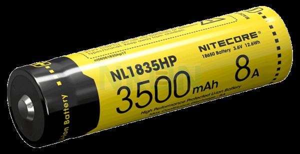 Nitecore 18650 NL1835HP 3500mAh (protected) - 8A