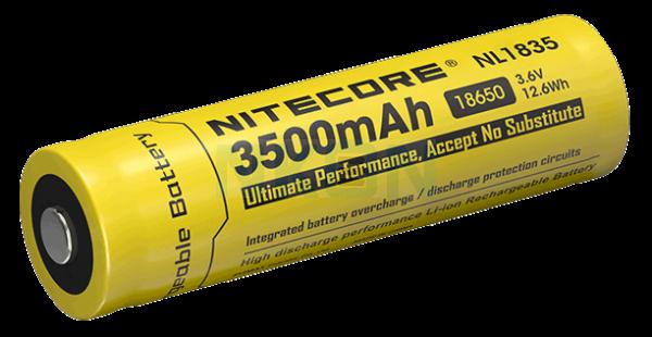 Nitecore 18650 NL1835 3500mAh (protected) - 4A