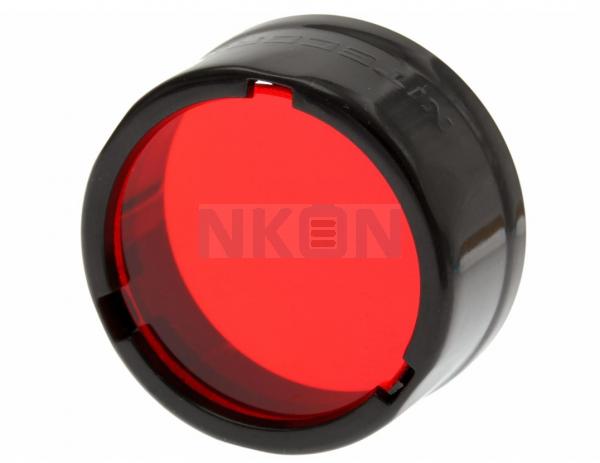 Nitecore Filter - Diffusor 25.4 mm - Rood