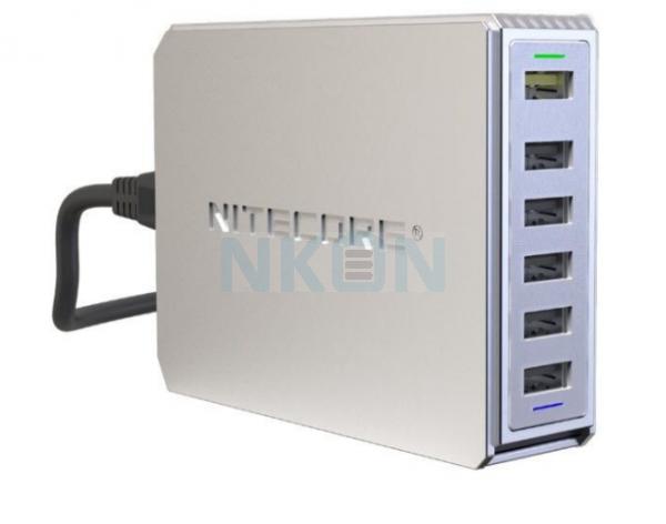 Nitecore UA66Q 6-port USB-зарядное устройство
