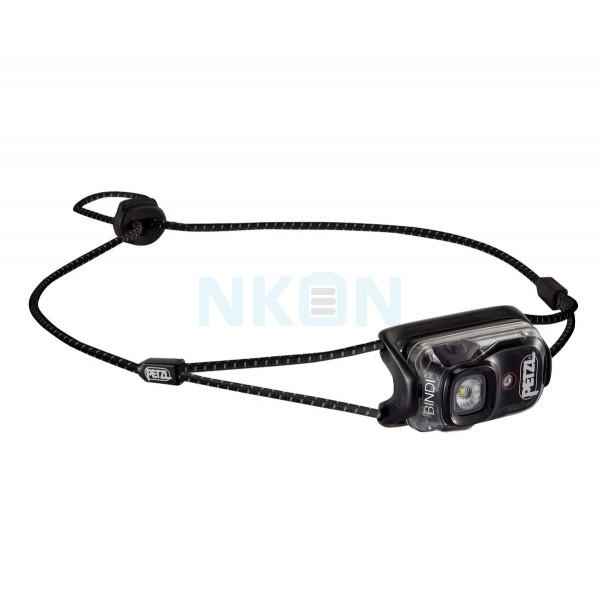 Черная головная лампа Petzl Bindi - 200 люмен