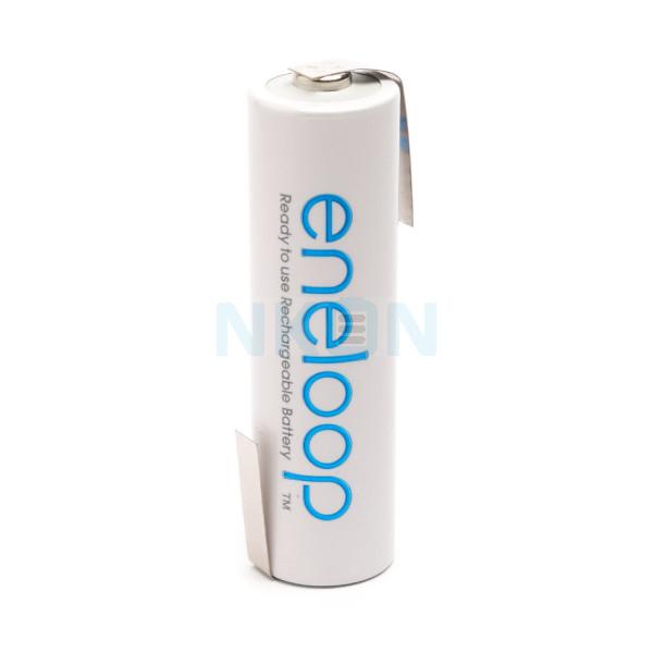 1 AA Eneloop с выводом под пайку Z-lip - 1900mAh