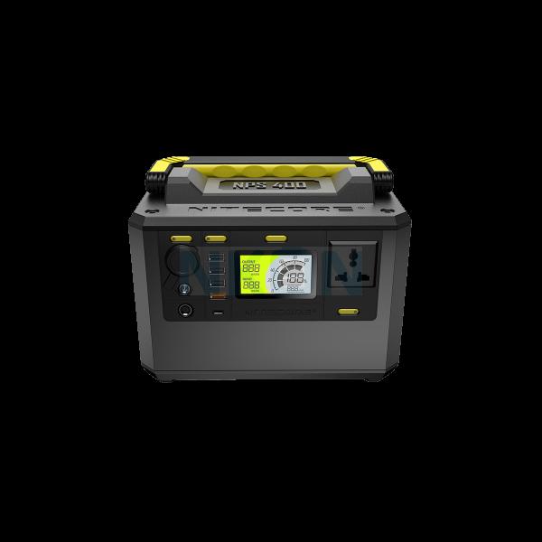 Nitecore NPS400 Портативная уличная электростанция - 220В - 421Втч
