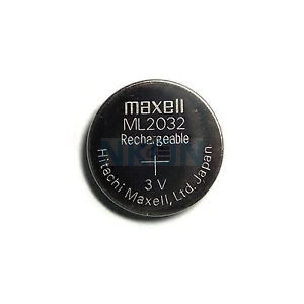 Maxell ML2032 аккумуляторная кнопочная батарейка