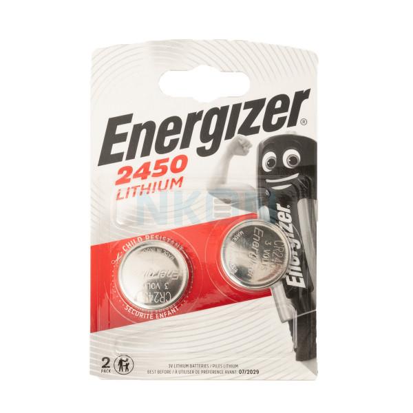 2x Energizer CR2450 - 3 В