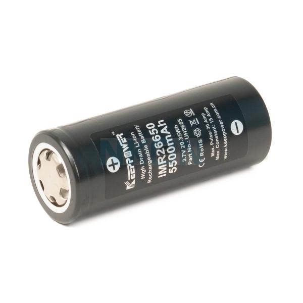 Keeppower IMR26650 5500mAh - 15A