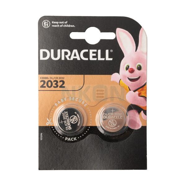 2x Duracell CR2032 - 3V