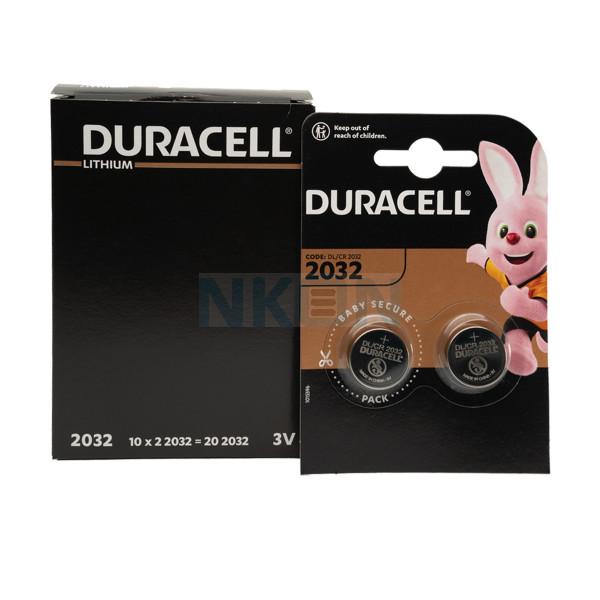 20x Duracell CR2032 - 3V