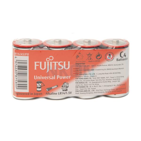 4x D Fujitsu Universal Power - 1,5 В