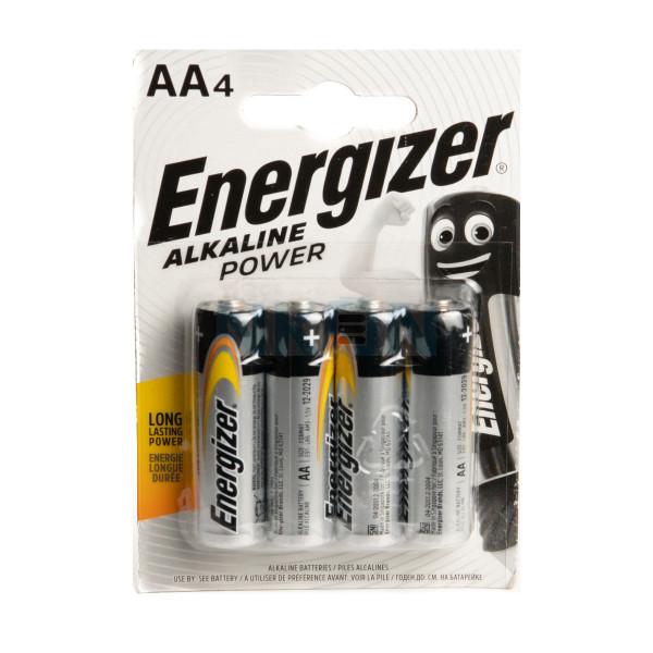 4x AA Energizer Alkaline Power - 1.5V