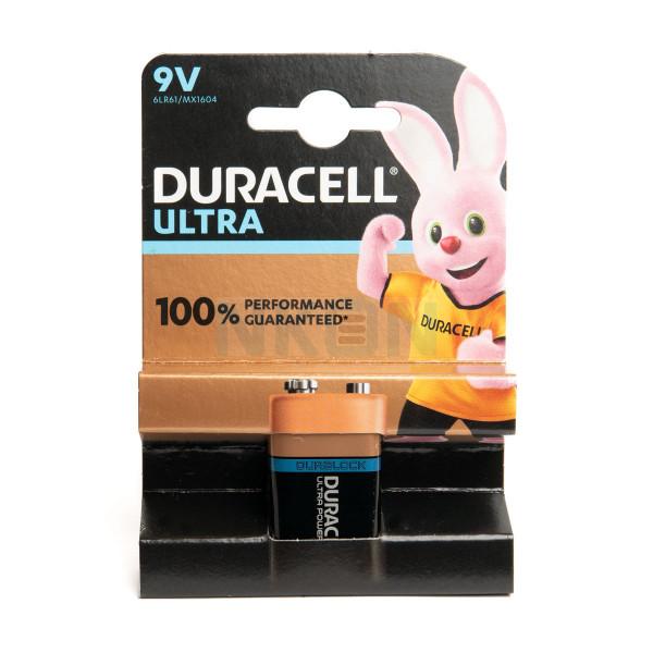 9V Durcell Ultra Power - блистер