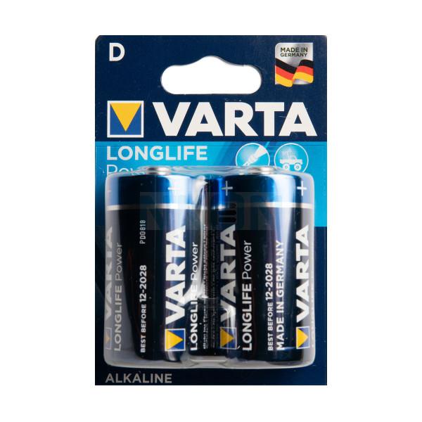 2 D Varta Longlife Power - блистер