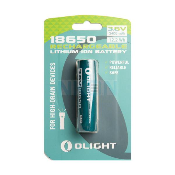 Olight 18650 3400mAh аккумулярная батарея для серии M