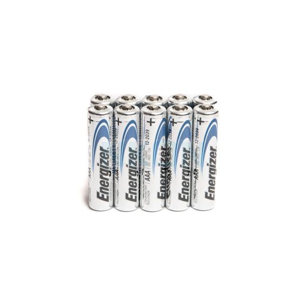 10 AAA Energizer Ultimate L92 литиевые батарейки