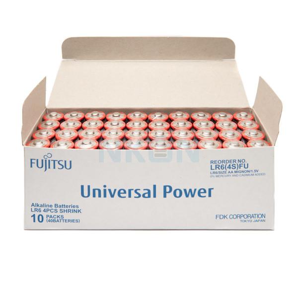 40 AA Fujitsu щелочная батарейка