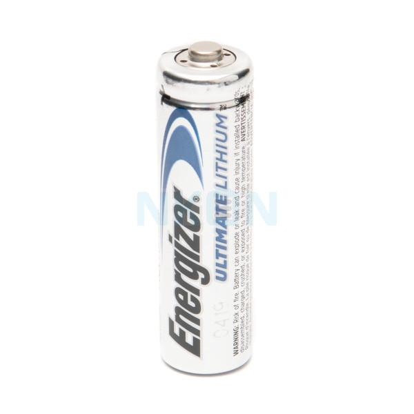 1 AA Energizer Ulthimate L91 - 3000 mAh литиевая батарея