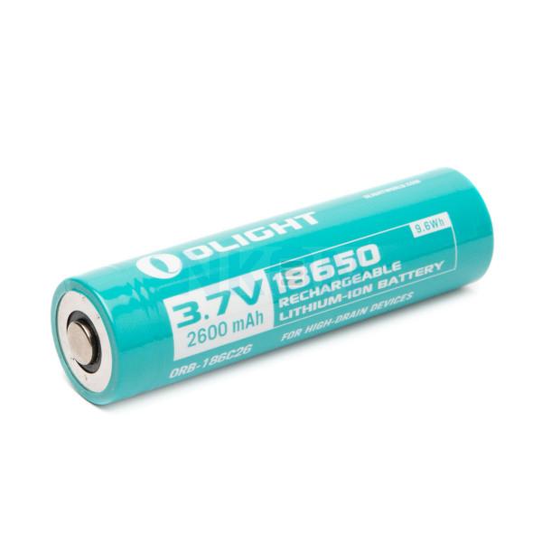 Olight 18650 2600mAh литиевая аккумуляторная батарея для R20