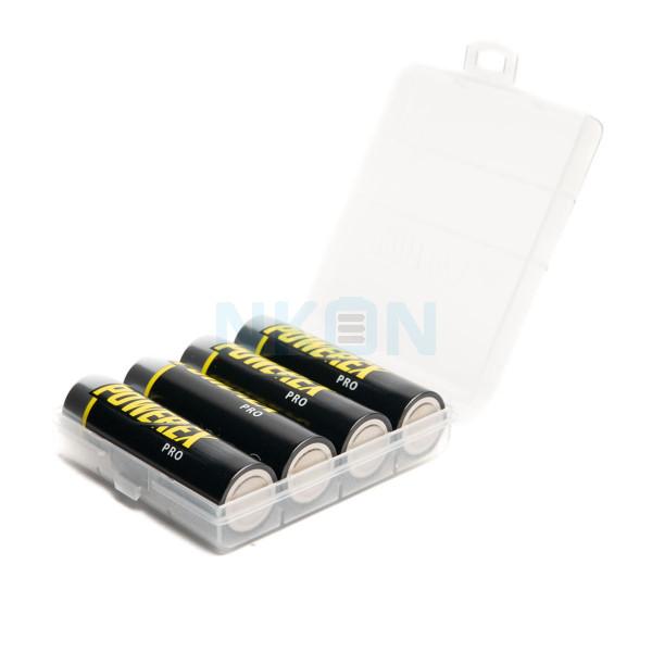 4 AA Maha Powerex Pro с предварительной зарядкой - коробка - 2700 мАч