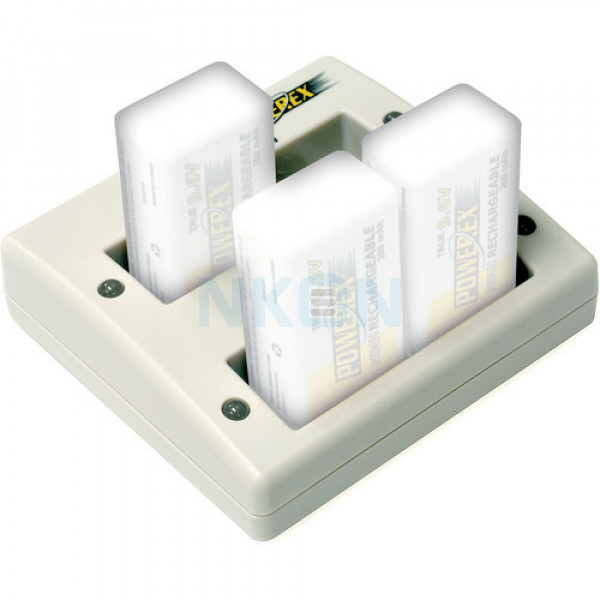 Maha Powerex MH-C490F 9V зарядное устройство для батареек