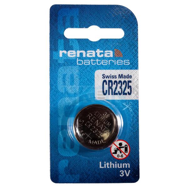 Renata CR2325 3V литиевая кнопочная батарейка