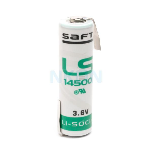 SAFT LS14500 / AA литиевые с выводом под пайку Z-tags - 3.6V