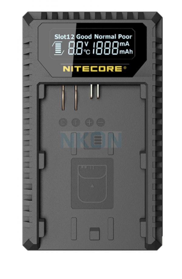 Nitecore UCN1 - Canon ( LP-E6/LP-E6N - LP-E8)