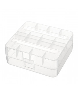 Keeppower 2x 26650 или 4x 18650 коробочка для батареек
