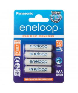 4 AAA Eneloop - 750mAh в блистерной упаковке