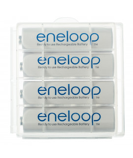 4 AA Eneloop - коробка - 1900mAh