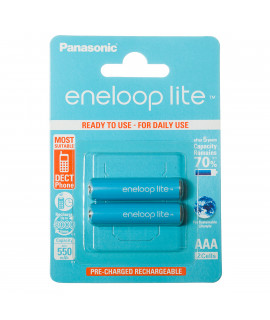 2 AAA Eneloop Lite- 550mAh - блистерная упаковка
