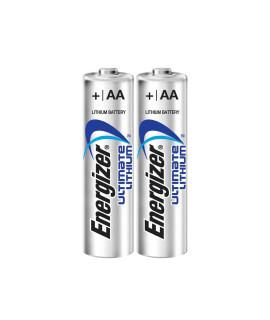 10 AA Energizer Ultimate L91 литиевые батарейки