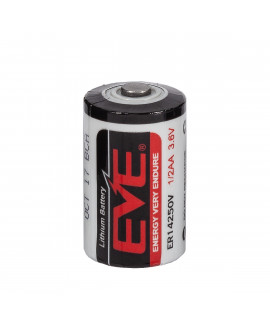 EVE ER14250 1/2AA 3.6V литиевая батарея (одноразовая)