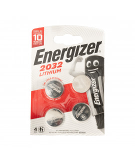 4x Energizer CR2032 - 3 В