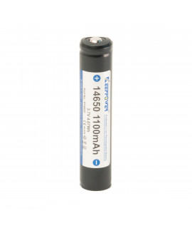 Keeppower 14650 1100mAh (protected) - 3A