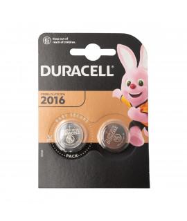2x Duracell CR2016 - блистер - 3V