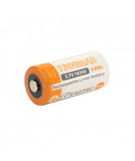 EagleTac 18350 1300mAh (protected) - 10A