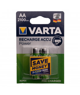 2 AA Varta Recharge Accu Power - 2100mAh