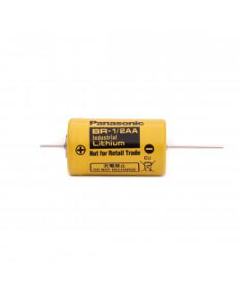 Panasonic Industrial BR-1/2AA литиевая батарея с выводами для пайки (CNA) - 3V