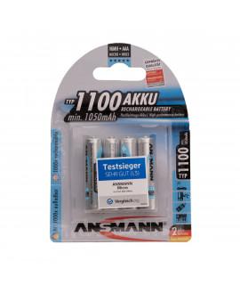 Ansmann AAA 1100 mAh Accu  4 упаковка