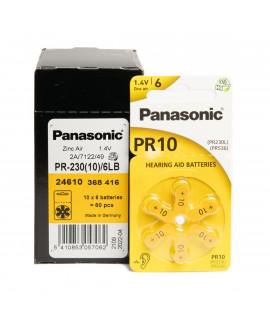 10x6 Panasonic 10 слуховые батареи