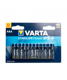 12 AAA Varta Longlife Power - блистер