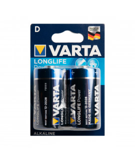 2 D Varta Longlife Power - блистер