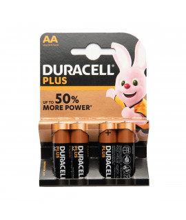 4 AA Duracell Plus - блистер