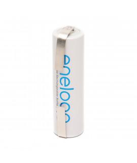 1 AA Eneloop с выводом для пайки U-tags - 1900mAh
