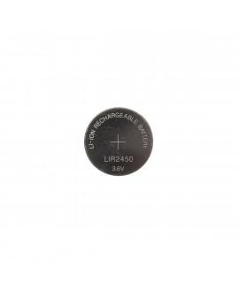 LIR2450- 120mAh аккумуляторная литий-ионная кнопочная батарейка