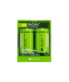 2x GP Recyko D - блистер - 2200 мАч