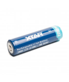 XTAR 18650 2200 мАч (защищенный) - 5А