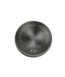 LIR2032 перезаряжаемая литий-ионная кнопочная батарейка  - 3,6 В
